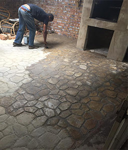 Paving moulds, patio and driveway moulds