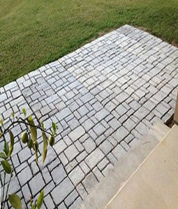 DIY paving stencil cement Belgium