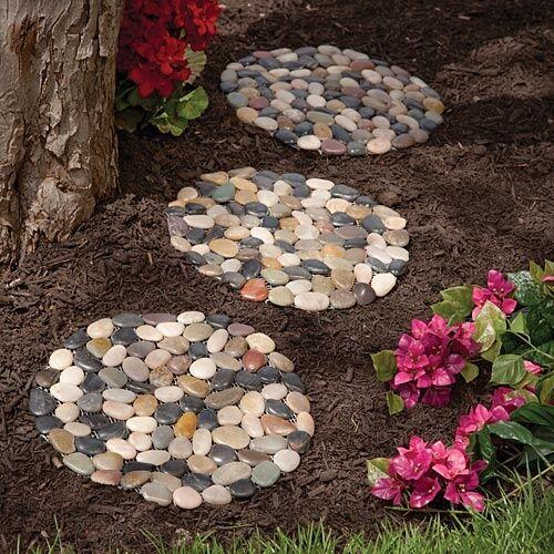 Paving Mould DIY Path Brick Mould Plastic Floor Tile Cement Concrete Mould Stone Walking Path Maker Road Garden Supplies