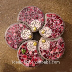 Paving Mould DIY Path Brick Mould Plastic Floor Tile Cement Concrete Mould Stone Walking Path Maker Road Garden Supplies