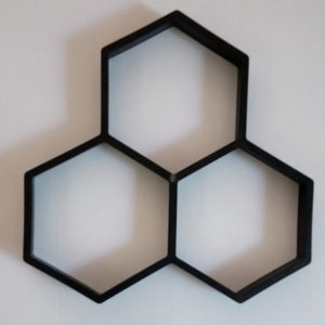 DIY Paving Mould Hexagon