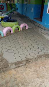 Paving moulds DIY Hexagon