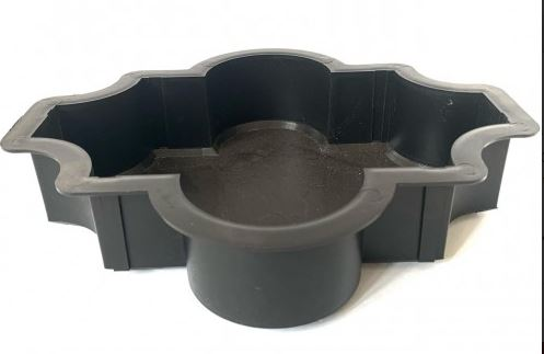 Moroccan paving mould