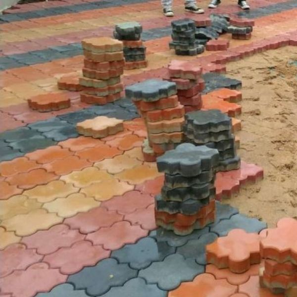 Morrocan paving mould