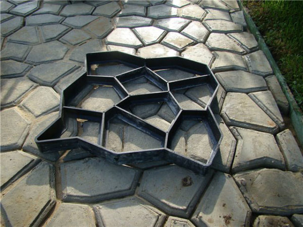 DIY Paving mould Matrix